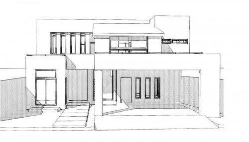 Dinga construye proyectos dinga for Fachadas en planos arquitectonicos